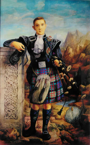 The Piper Boy painting